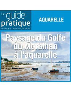 Paysage du Golfe du Morbihan, aquarelle - Guide Pratique Numérique