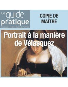 Jeune femme cousant à la manière de Vélasquez - Guide Pratique Numérique