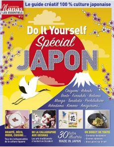 ADN - spécial JAPON - 30 tutoriels créatifs illustrés : beauté, déco, mode et cuisine japonaise