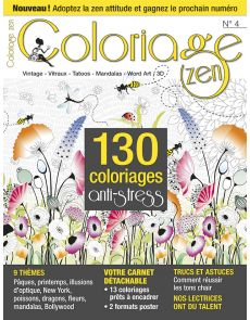 Coloriage Zen n°4 - 130 coloriages anti-stress