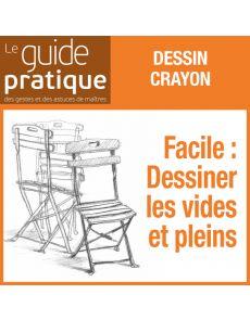 Facile : dessiner les vides et pleins des chaises de jardin - Guide Pratique Numérique