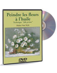 Peindre les fleurs à l'huile, technique alla prima – DVD