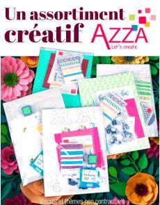 L'assortiment créatif AZZA en CADEAU !!!