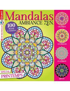 Mandalas Zen 9 - Spécial Printemps