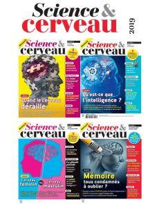 Collection 2019 complète - SCIENCE ET CERVEAU : 4 numéros collectors