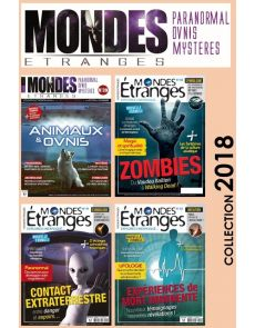Collection 2018 MONDES ETRANGES - 4 Numéros collector