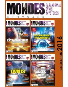 Collection 2016 MONDES ETRANGES - 4 Numéros Collector