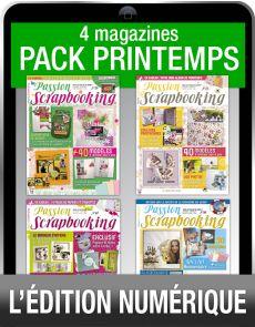 Téléchargement : le Pack SCRAPBOOKING spécial Printemps