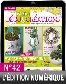TÉLÉCHARGEMENT : Atelier Déco et Créations 42 en version numérique