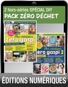 TÉLÉCHARGEMENTS : le pack DIY Zéro déchet par l'Atelier des Nanas