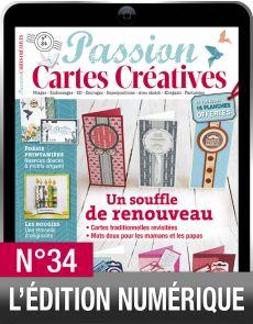 TÉLÉCHARGEMENT : Passion Cartes Créatives 34 en version numérique