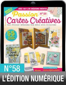 TÉLÉCHARGEMENT : Passion Cartes Créatives 58 en version numérique