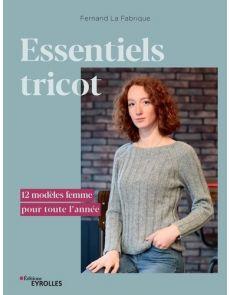 Essentiels tricot - 12 modèles femme pour toute l'année - Fernand La Fabrique