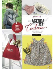 Mon agenda de la couture - + de 50 réalisations, une par semaine - Edition 2021 Singer