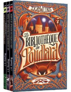 La bibliothèque de Poudlard - Coffret en 3 volumes - JK Rowling