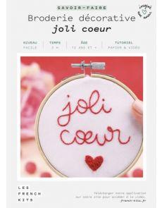 Kit Broderie Joli Cœur - French Kits