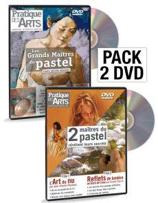 PASTEL pack de deux DVD - Pratique des Arts vidéo