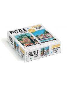 Puzzle Plein Sud - 2 puzzles de 420 pièces chacun
