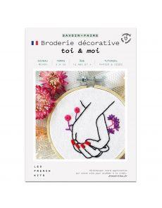 Kit Broderie Toi & Moi - French Kits