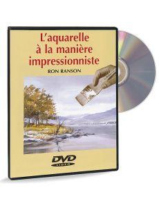 L'aquarelle à la manière impressionniste – DVD