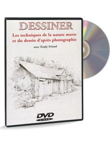 Techniques de la nature morte / dessin d'après photo – DVD