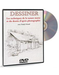 Techniques de la nature morte / dessin d'après photo – DVD