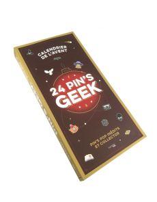 Calendrier de l'avent : 24 pin's geek - Pin's pop inédits et collector