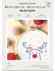 Kit Broderie Rudolphe - French Kits