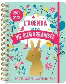 L'agenda de ma vie bien organisée - Edition 2021-2022 - Yolande Six