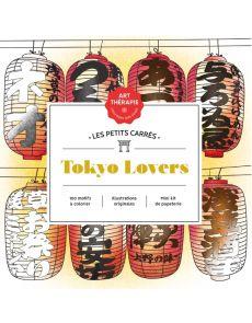 Les Petits carrés d'Art-thérapie Tokyo Lovers - Laetitia Sala