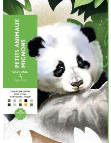 Coloriages mystères - Petits animaux mignons - William Bal