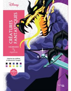 Coloriages mystères Disney Créatures fantastiques - Alexandre Karam