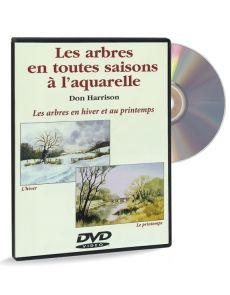 Les arbres en toutes saisons à l'aquarelle - Hiver Printemps – DVD