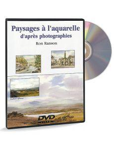 Paysages à l'aquarelle d'après photographies – DVD