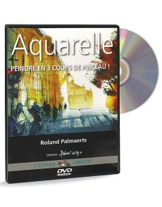Aquarelle - Peindre en 3 coups de pinceau ! – DVD