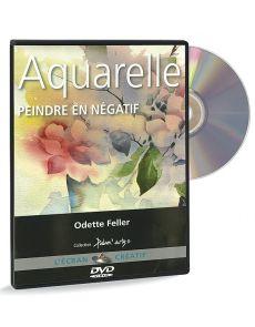 Aquarelle - Peindre en négatif – DVD