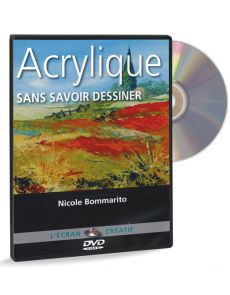 Acrylique - Sans savoir dessiner volume 1 – DVD