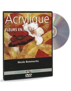 Acrylique - Fleurs en relief volume 2 – DVD