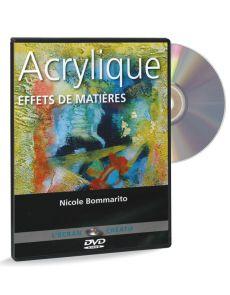Acrylique - Effets de matières volume 4 – DVD