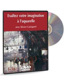 Exaltez votre imagination à l'aquarelle – DVD