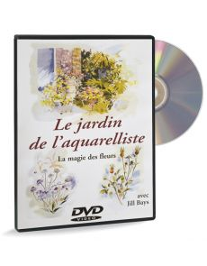 Le jardin de l'aquarelliste, la magie des fleurs - DVD