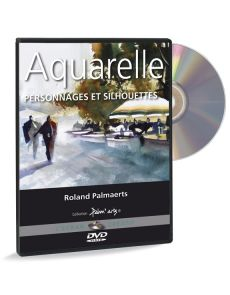 Roland Palmaerts - Aquarelle - Personnages et silhouettes - DVD
