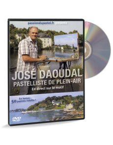 José Daoudal - Pastelliste de plein air - DVD