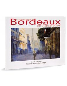 Discovering Bordeaux in watercolor, a colourfull ode to a city full of lights - By Joël Tenzin