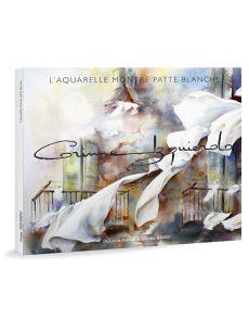 Corinne Izquierdo - L'aquarelle montre patte blanche