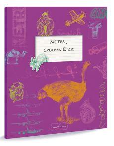 Notes, croquis et cie - Carnet de dessin