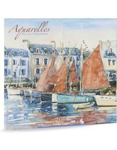 Calendrier 2014 - Aquarelles Philippe Vandenberghe