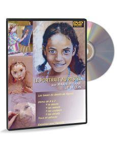 Le portrait au pastel par Marie-Pierre Le Sellin (DVD)
