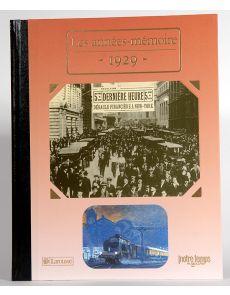 1929 - Les années mémoire