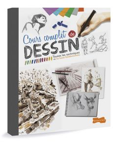 Cours complet de dessin - Toutes les techniques